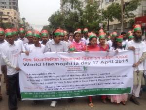 World Haemophilia Day, 2015