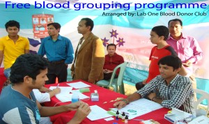 Free Blood Grouping Camp